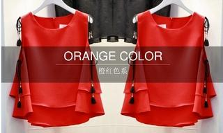 2016春夏橙红色系(韩国东大门)零售分析