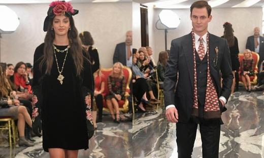 2017秋冬高定[Dolce & Gabbana]倫敦時裝發布會