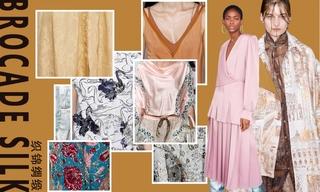 2020春游面料:织锦绸缎