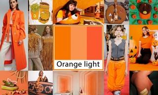 2020春夏色彩:逆橙来袭