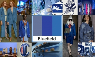 2020春夏色彩:蓝色领域