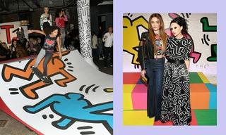 Keith Haring x Alice + Olivia联名胶囊系列活动