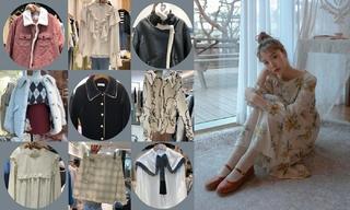 【韩国东大门】豹纹|牛角扣|格纹外套