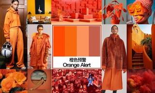 2020初秋色彩:橙色预警
