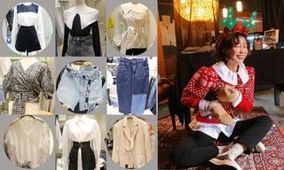 【韩国东大门】 撞色|腰带|牛仔|干练西装