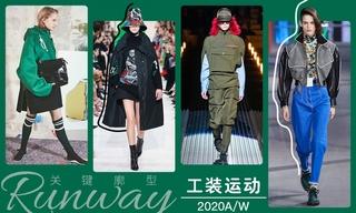 2020秋冬廓型:工装运动