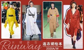 2020秋冬廓型:连衣裙绘本