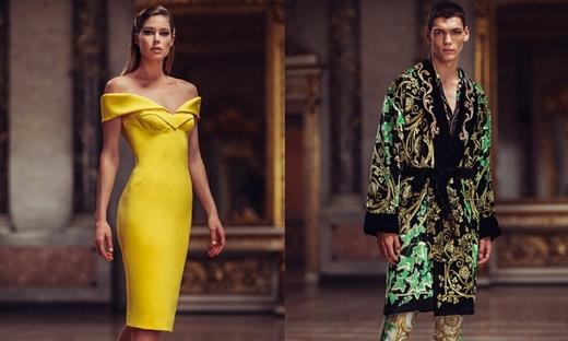 2019春夏高級定制[Atelier Versace]巴黎時裝發布會