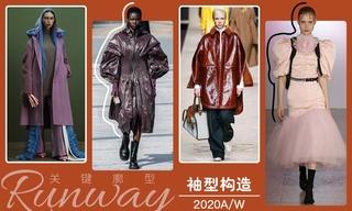2020秋冬廓型:袖型构造