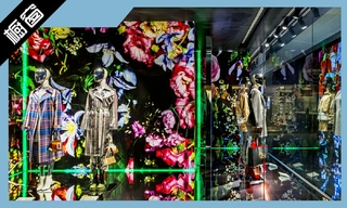 【橱窗陈列】Breuninger、Jimmy Choo、Kenzo富有表现性的橱窗