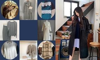 【韩国东大门】奶茶|早秋|毛衣|工艺