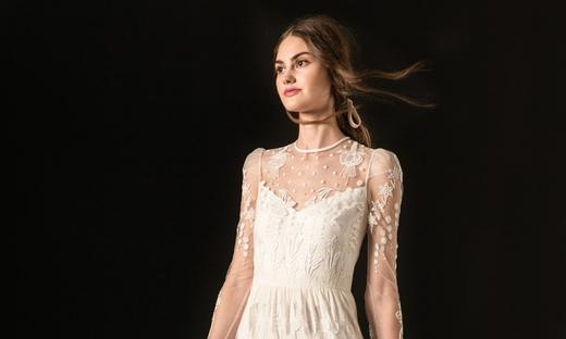 2020秋冬婚紗[Temperley London]紐約時裝發布會