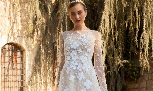 2020秋冬婚紗[Georges Hobeika]紐約時裝發布會