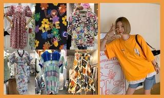 【韓國東大門】泫雅風印花|幾何色彩|涂鴉