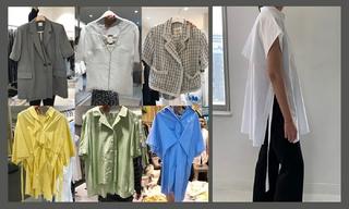 【韩国东大门】大女人风  oversized衬衫 高级中性色